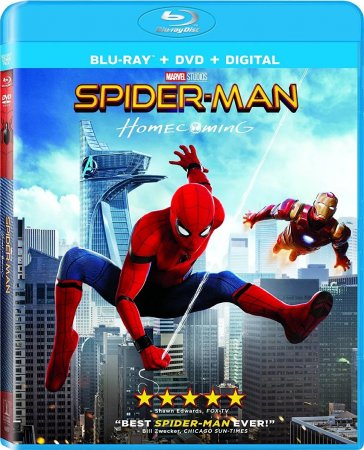 Spider Man Homecoming 1080p 3D BluRay