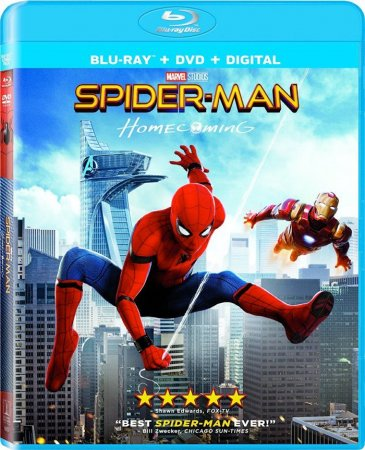 Spider-Man Homecoming 1080p BluRay