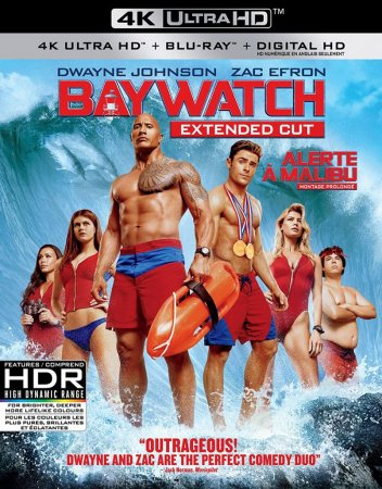 Baywatch BluRay 4K Ultra HD 2160P