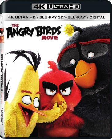Angry Birds Blu-Ray HEVC 4K Ultra HD