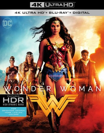 Wonder Woman Blu-Ray REMUX 4K Ultra HD