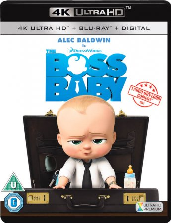The Boss Baby - BluRay REMUX 4K Ultra HD
