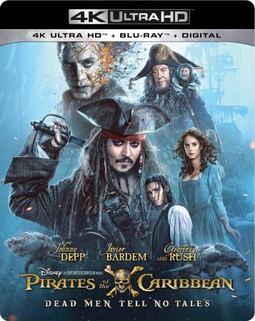Pirates of the Caribbean Dead Men Tell No Tales BDRemux 4K