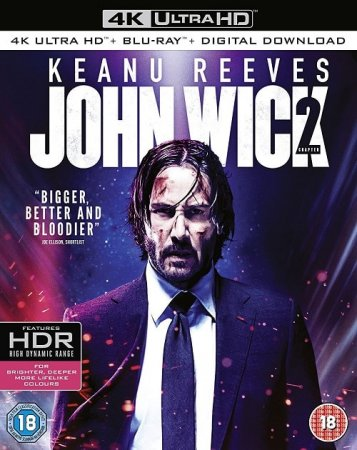 John Wick: Chapter Two 4K Ultra HD 2160P