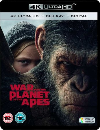 War for the Planet of the Apes (2017) 4K Ultra HD REMUX 2160p