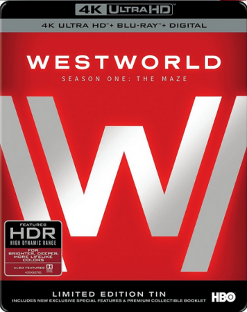 Westworld Season One 4K UHD 2160P Blu-ray REMUX Episode 1 - 10