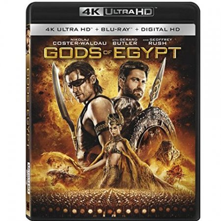 Gods of Egypt (2016) 4K Remux Blu-ray 2160p
