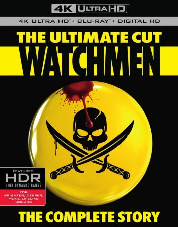 Watchmen 2009 The Ultimate Cut Blu-ray 4K REMUX 2160p