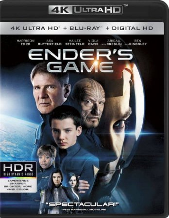Ender's Game 2013 4K Blu-ray REMUX Ultra HD