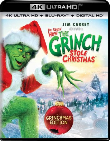 How the Grinch Stole Christmas (2000) 4K Ultra HD Blu-ray REMUX 2160p
