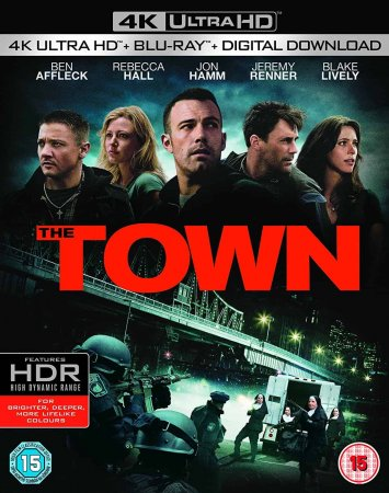 The Town (2010) 4K REMUX 2160P UHD