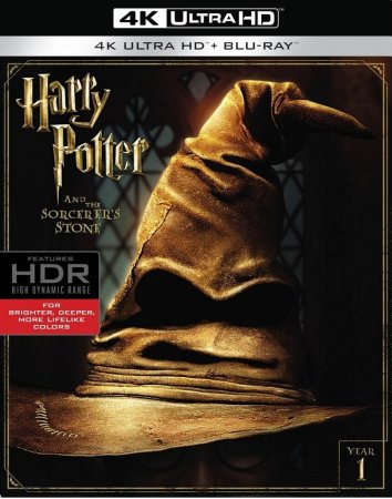 Harry Potter and the Sorcerer's Stone 2001 REMUX 4K UHD 2160p