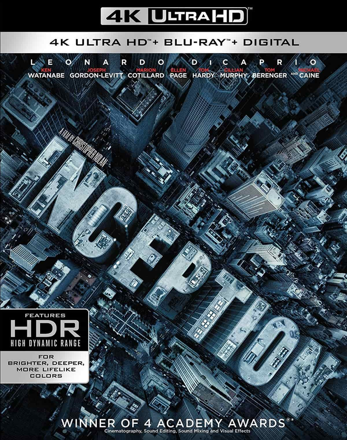 Inception 4K (2010) Ultra HD 2160p REMUX » Blu-Ray Movies