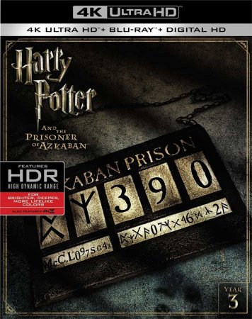 Harry Potter and the Prisoner of Azkaban 4K 2004 Blu-ray REMUX Ultra HD