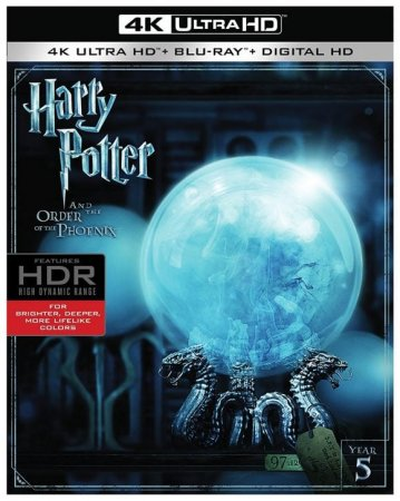 Harry Potter and the Order of the Phoenix 4K 2007 REMUX Ultra HD 2160p