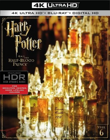 Harry Potter and the Half-Blood Prince 4K Blu-ray 2009 REMUX UHD 2160P