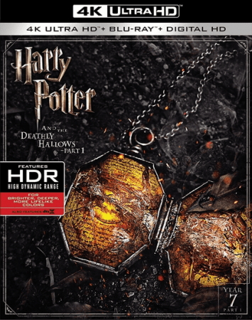 Harry Potter and the Deathly Hallows Part 1 4K Blu-ray 2010 REMUX UHD