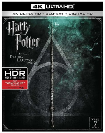 Harry Potter and the Deathly Hallows Part 2 4K Blu-ray 2011 REMUX UHD 2160P