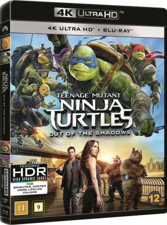 Teenage Mutant Ninja Turtles Out of the Shadows 4K REMUX 2016 UHD 2160p Blu-ray