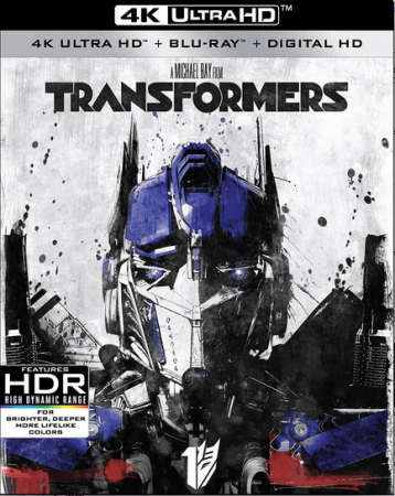 Transformers 4K Blu-ray 2007 REMUX Ultra HD 2160p