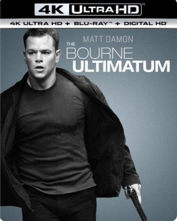 The Bourne Ultimatum 4K (2007) REMUX Ultra HD 2160p