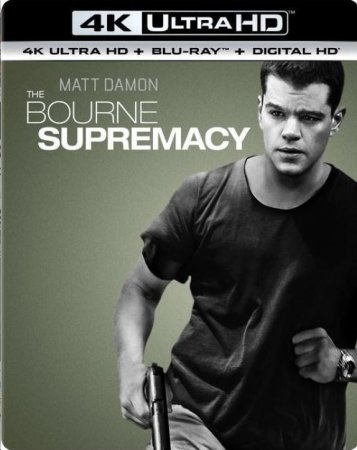 The Bourne Supremacy 4K (2004) Ultra HD 2160P REMUX