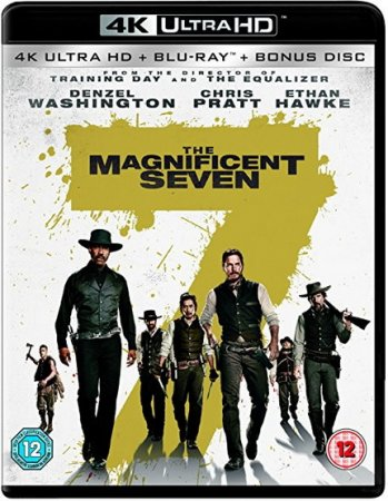 The Magnificent Seven 4K Remux 2016 Ultra HD