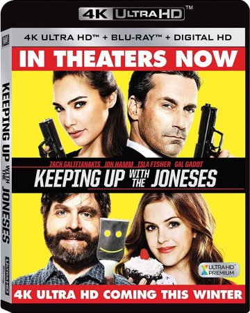 Keeping Up with the Joneses 4K (2016) Ultra HD 2160p REMUX