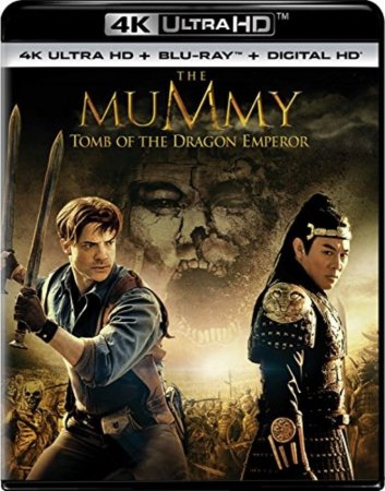 The Mummy Tomb of the Dragon Emperor 4K (2008) Ultra HD REMUX