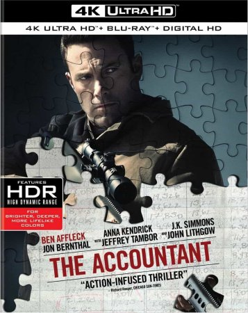 The Accountant 4K REMUX 2016 Ultra HD