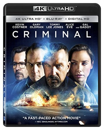 Criminal 4K (2016) Ultra HD 2160p REMUX