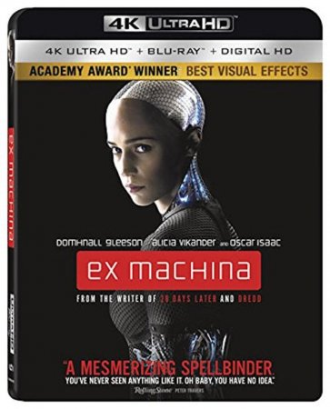 Ex Machina 4K (2014) Ultra HD 2160p REMUX