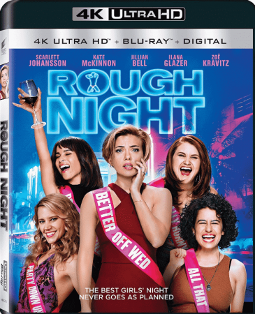 Rough Night 4K 2017 Ultra HD REMUX