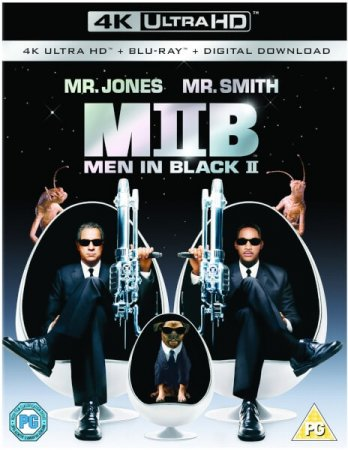 Men in Black II 2002 4K Ultra HD REMUX 2160p