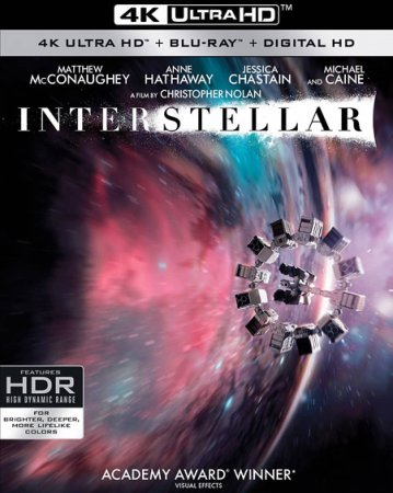 Interstellar 4K (2014) Ultra HD 2160p REMUX