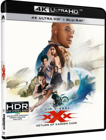 xXx Return of Xander Cage 4K (2017) Ultra HD 2160p REMUX