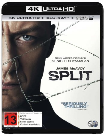 Split 4K (2016) Ultra HD 2160p REMUX