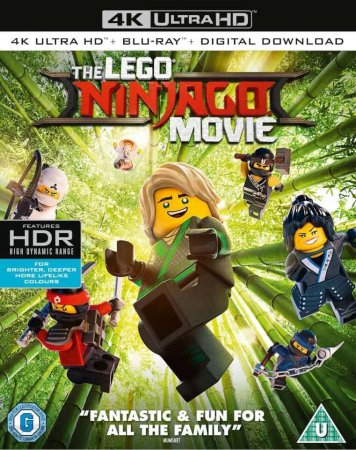 The LEGO Ninjago Movie 4K (2017) Ultra HD 2160p REMUX