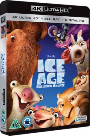 Ice Age Collision Course 4K (2016) Ultra HD 2160p REMUX