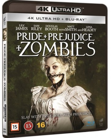 Pride and Prejudice and Zombies 4K (2016) Ultra HD 2160p REMUX