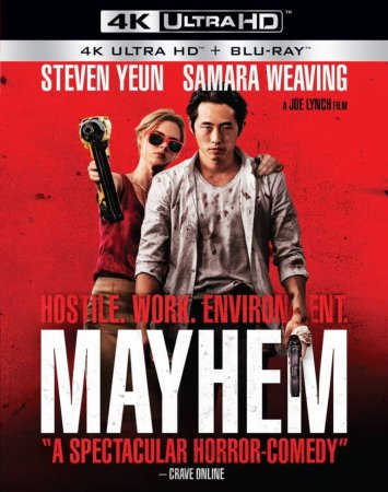 Mayhem 4K 2017 Ultra HD 2160p REMUX