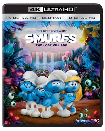 Smurfs The Lost Village 2017 4K Remux UHD 2160p