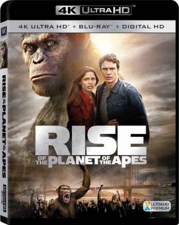 Rise of the Planet of the Apes 4K 2011 REMUX Ultra HD 2160p