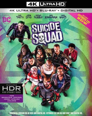 Suicide Squad (2016) REMUX 4k Ultra HD