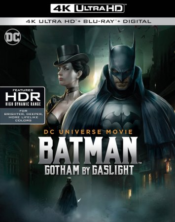 Batman Gotham by Gaslight 4K (2018) Ultra HD 2160p REMUX