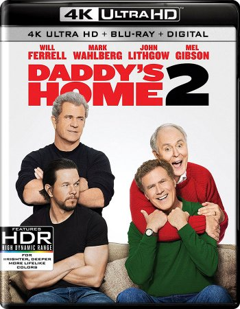 Daddy's Home 2 4K (2017) Ultra HD 2160p REMUX