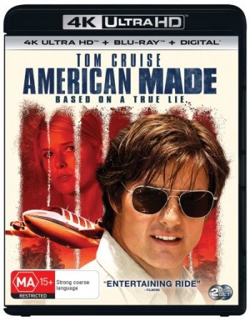 American Made 4K (2017) Ultra HD 2160p REMUX