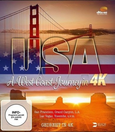 USA A West Coast Journey 4K (2014) DOCU Ultra HD 2160p REMUX
