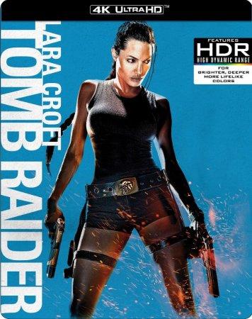 Lara Croft Tomb Raider 4k 2001 Blu Ray Uhd 2160p Blu Ray