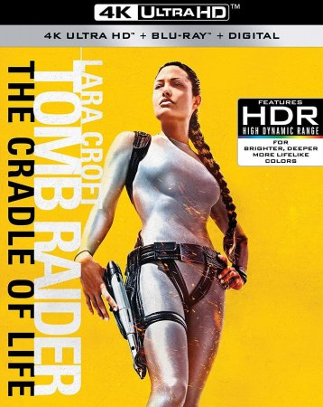 Lara Croft Tomb Raider The Cradle of Life 4K Blu-ray 2003 UHD 2160p